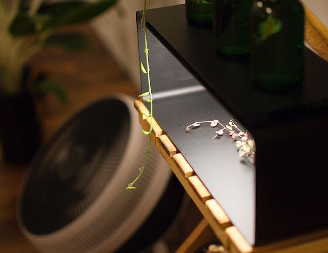 Y.S.M Minimal Lighting Shelf shines over your belongings
