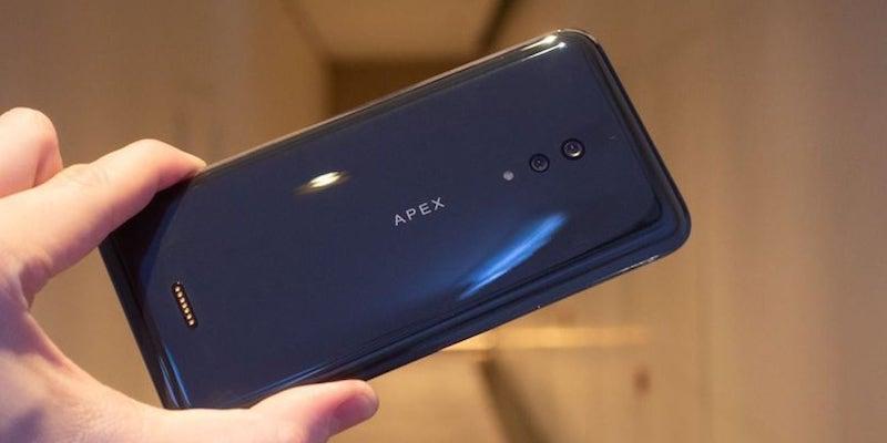 Vivo Apex 2019 5G Concept Phone