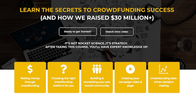 Learn the secrets to crowdfunding success with Crowdfunding101