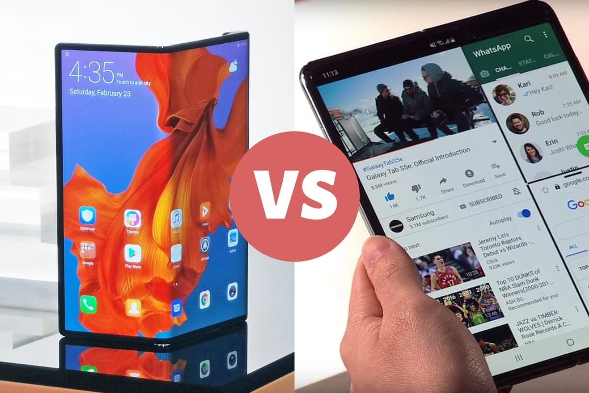 Which is the best folding phone? Galaxy Fold vs. Huawei Mate X