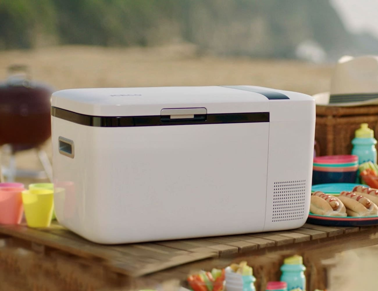 iFreezer Portable Smart Freezer comes with two storage spaces