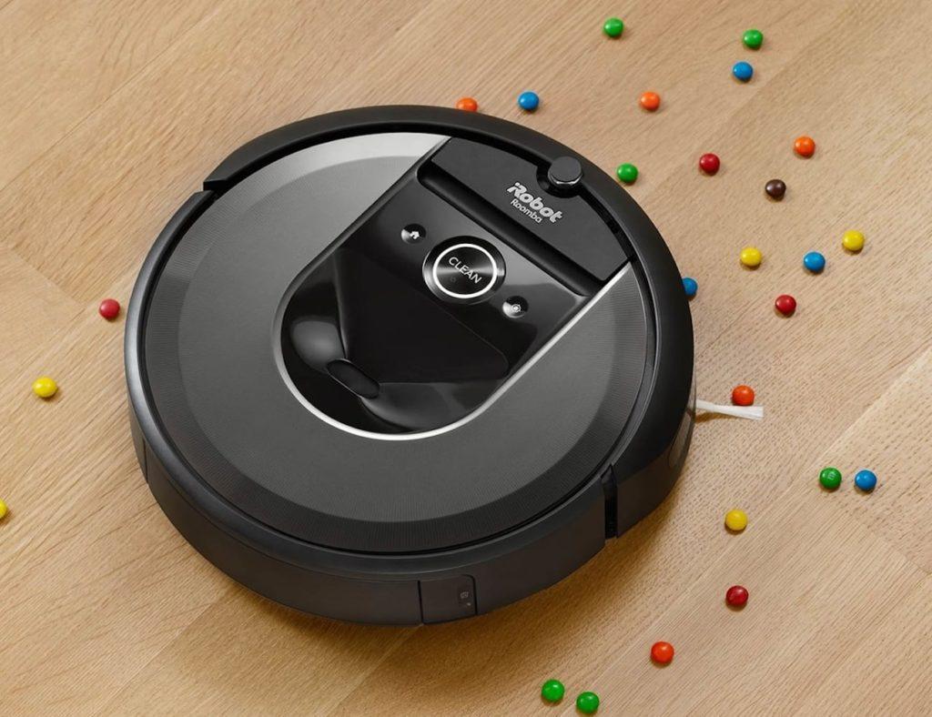 iRobot+Roomba+i7+Wi-Fi+Connected+Robot+Vacuum+picks+up+every+last+bit