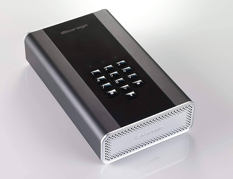 iStorage diskAshur DT2 Encrypted Desktop Hard Drive guards your files
