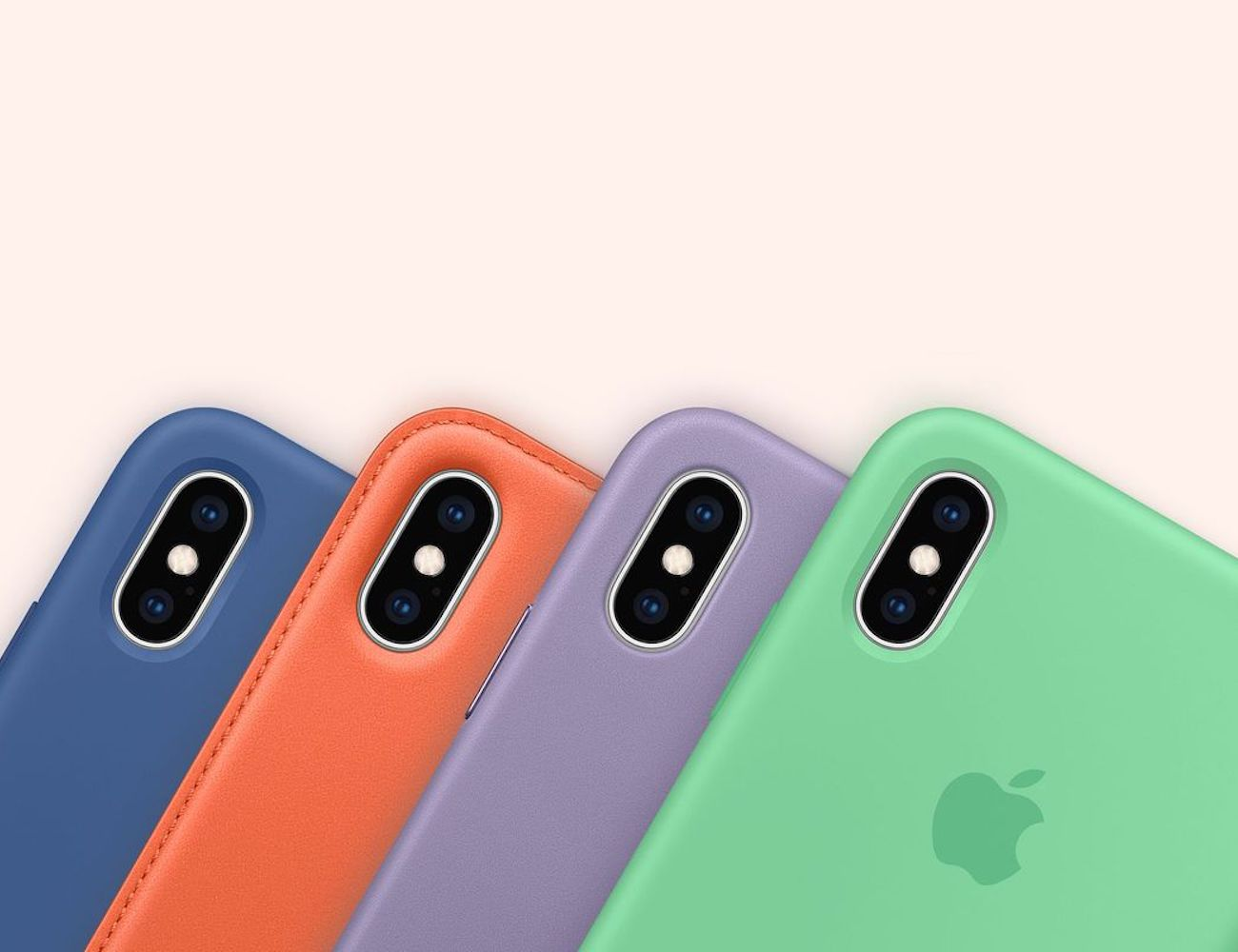 Apple Spring Color iPhone Cases