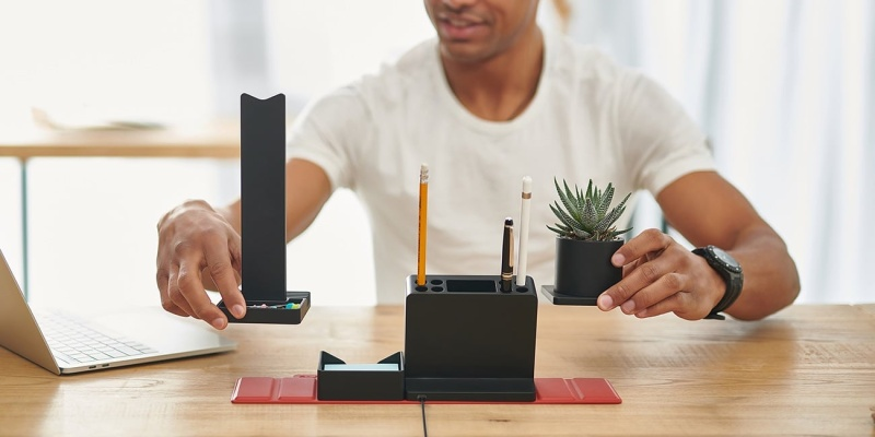 smart organizer - STEALTHO makes it easy to organize your desk