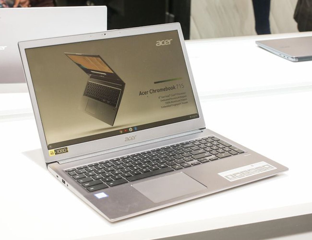 The Acer Chromebook 715 with Number Pad can take on any task