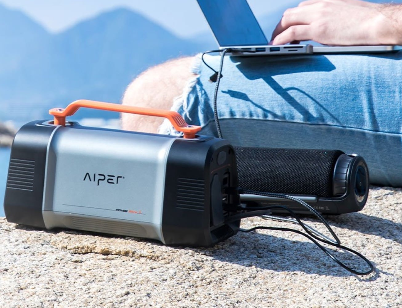 Aiper Flash 150W Reliable Portable Power Station or all your outdoor adventures