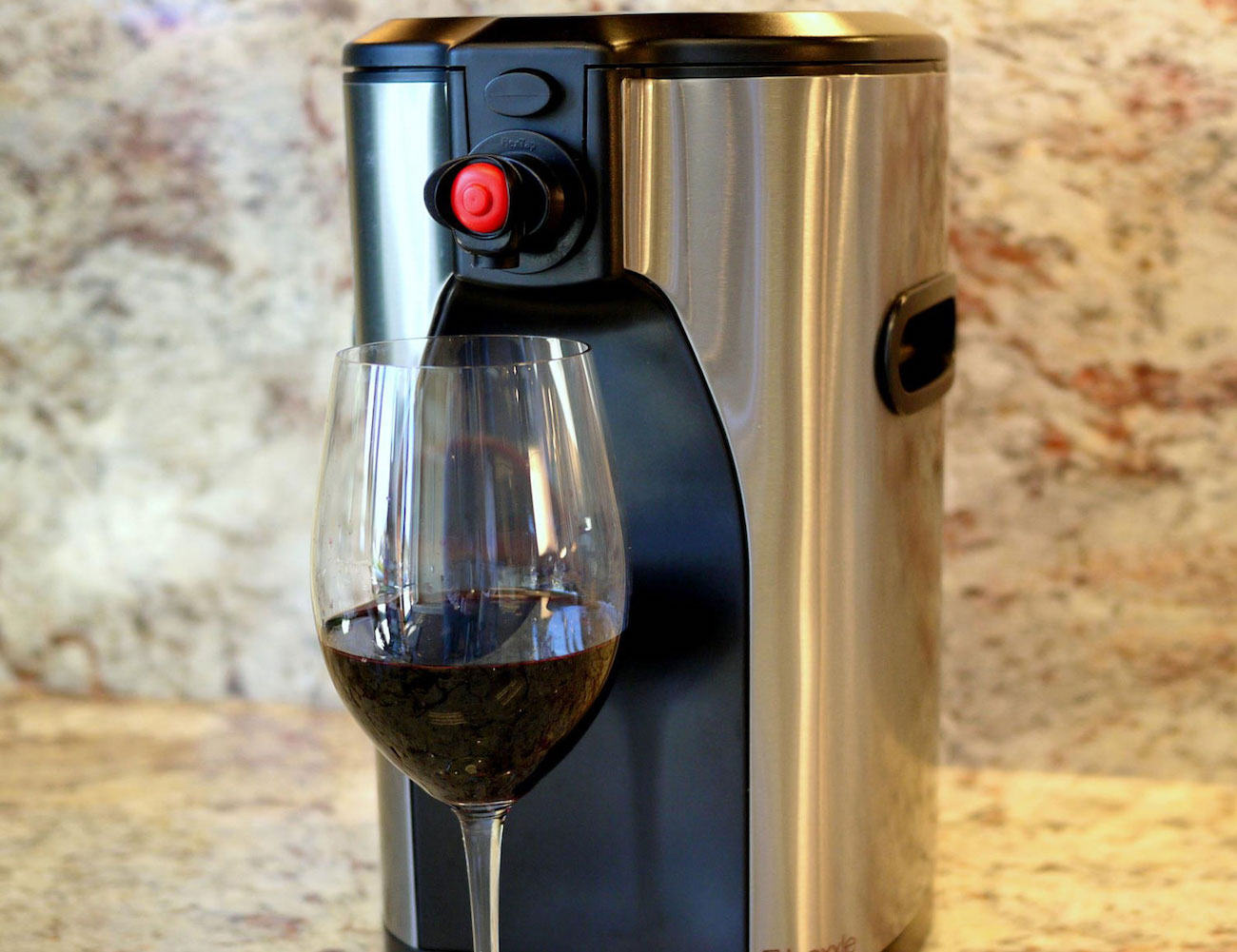 Boxxle Box Wine Dispenser pours your wine with style