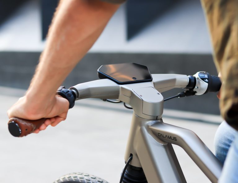 Calamus+One+Ultra-Drive+E-Bike+senses+blind+spots+for+you