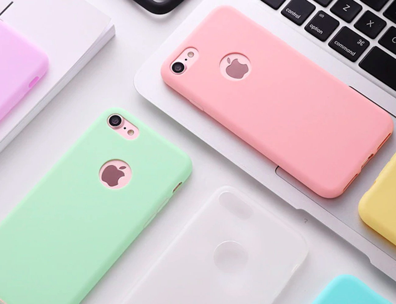 Candy Soft Silicone iPhone Case adds color to your every day