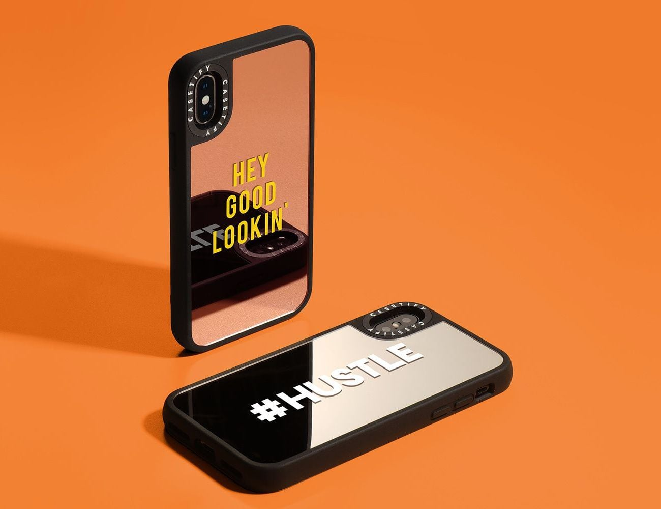 Casetify Reflective Mirror iPhone Case reflects your unique style