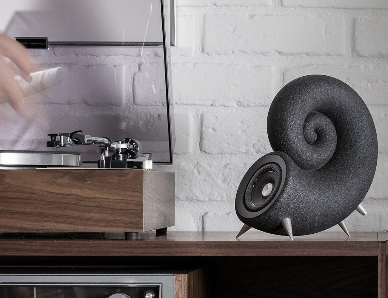 DEEPTIME Spirula 3D Printed Sand Speakers