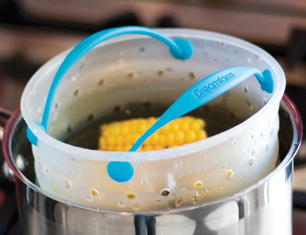 Dreamfarm Vebo Vegetable Steamer Basket fits any pot