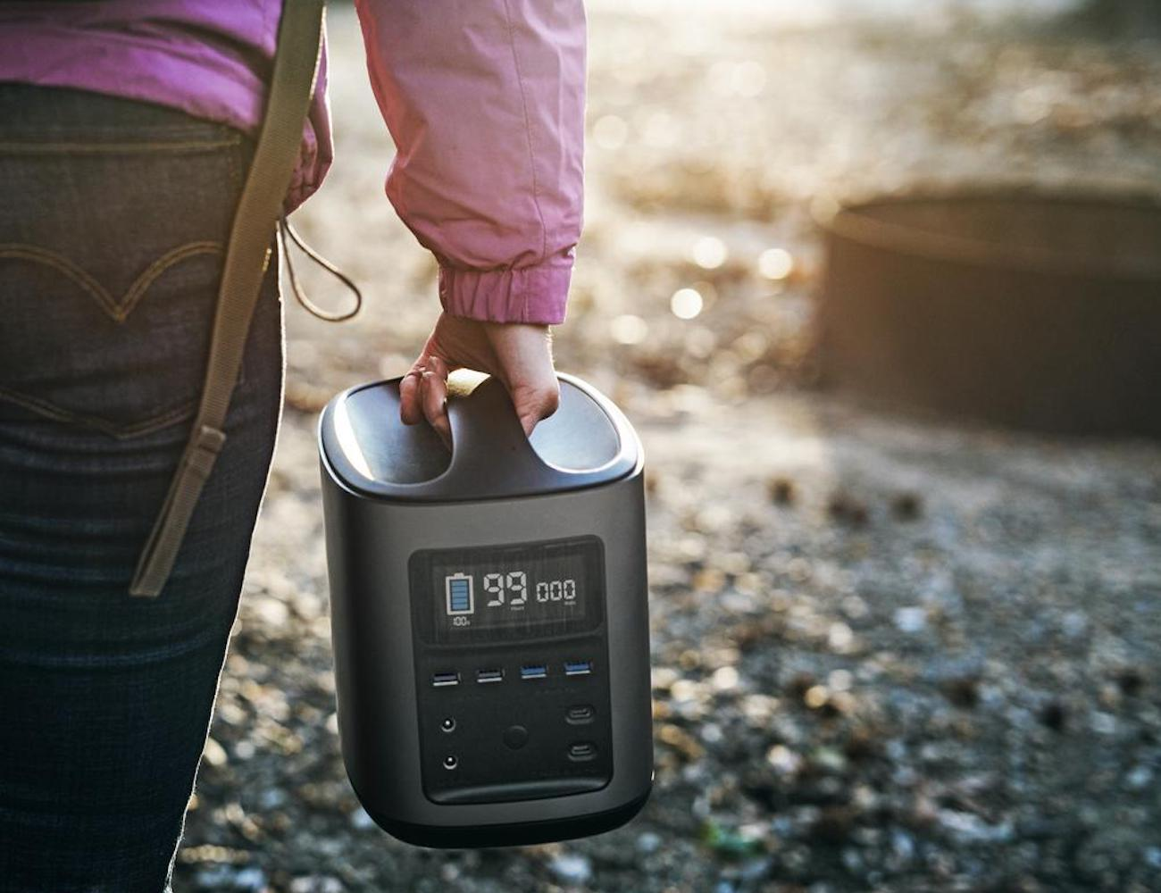 EcoFlow River412 Portable Charging Companion provides industrial-level power
