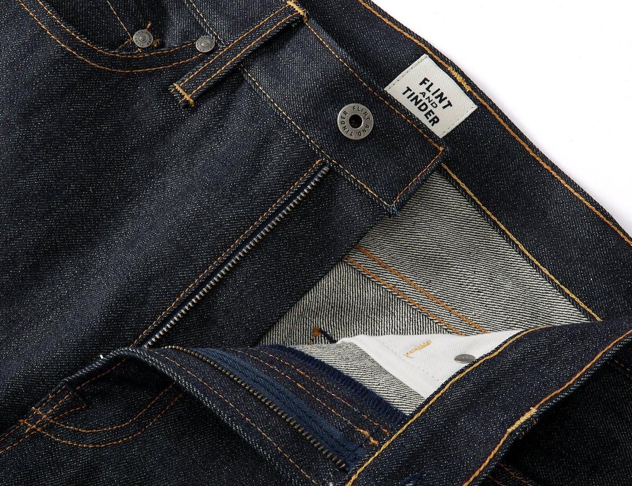 Flint and Tinder Defender Denim Kevlar Jeans are incredibly durable