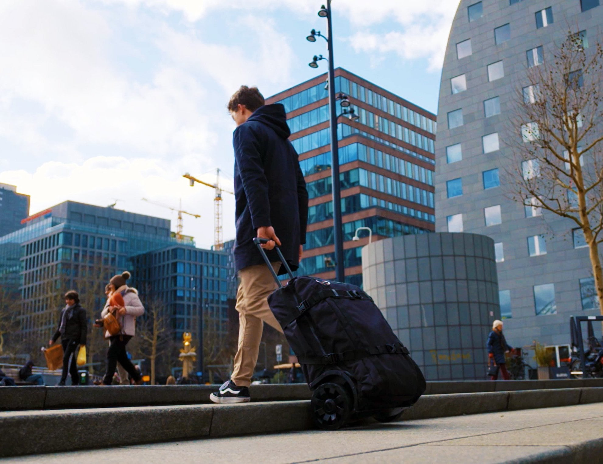 GRINGO All Terrain Wheeled Travel Bag