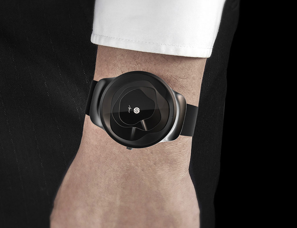 Gemic+Undulating+3D+Watch+makes+telling+the+time+fun