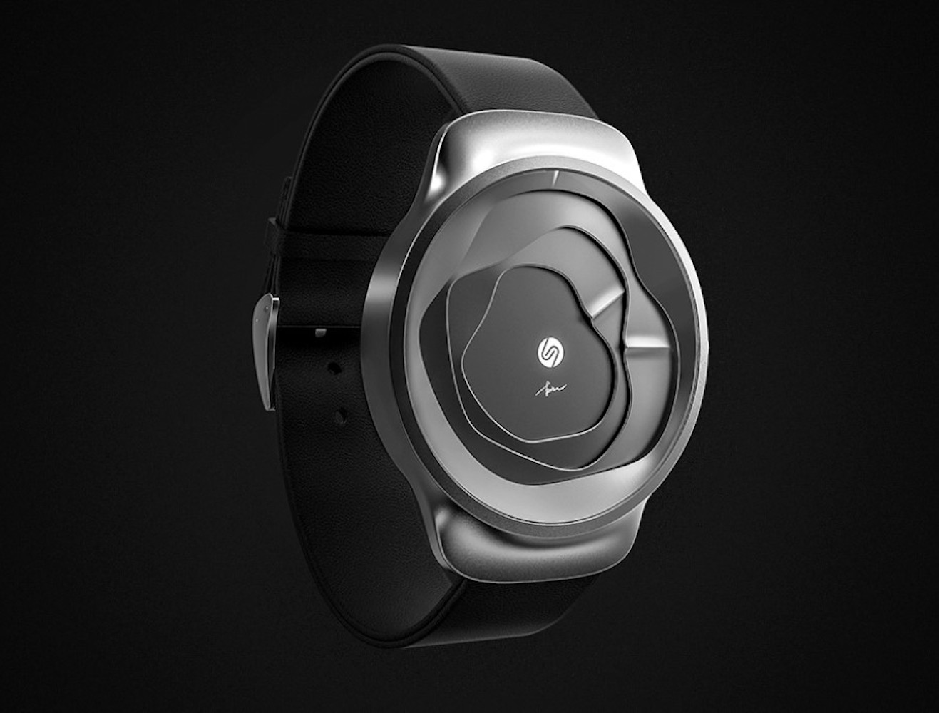 Gemic Undulating 3D Watch makes telling the time fun