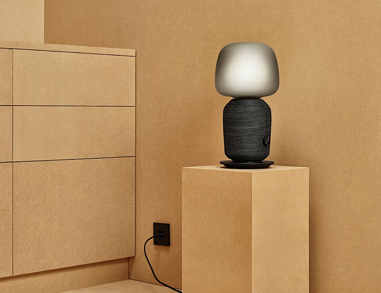 This Table Lamp Wi Fi Speaker Maximizes Your Minimalist