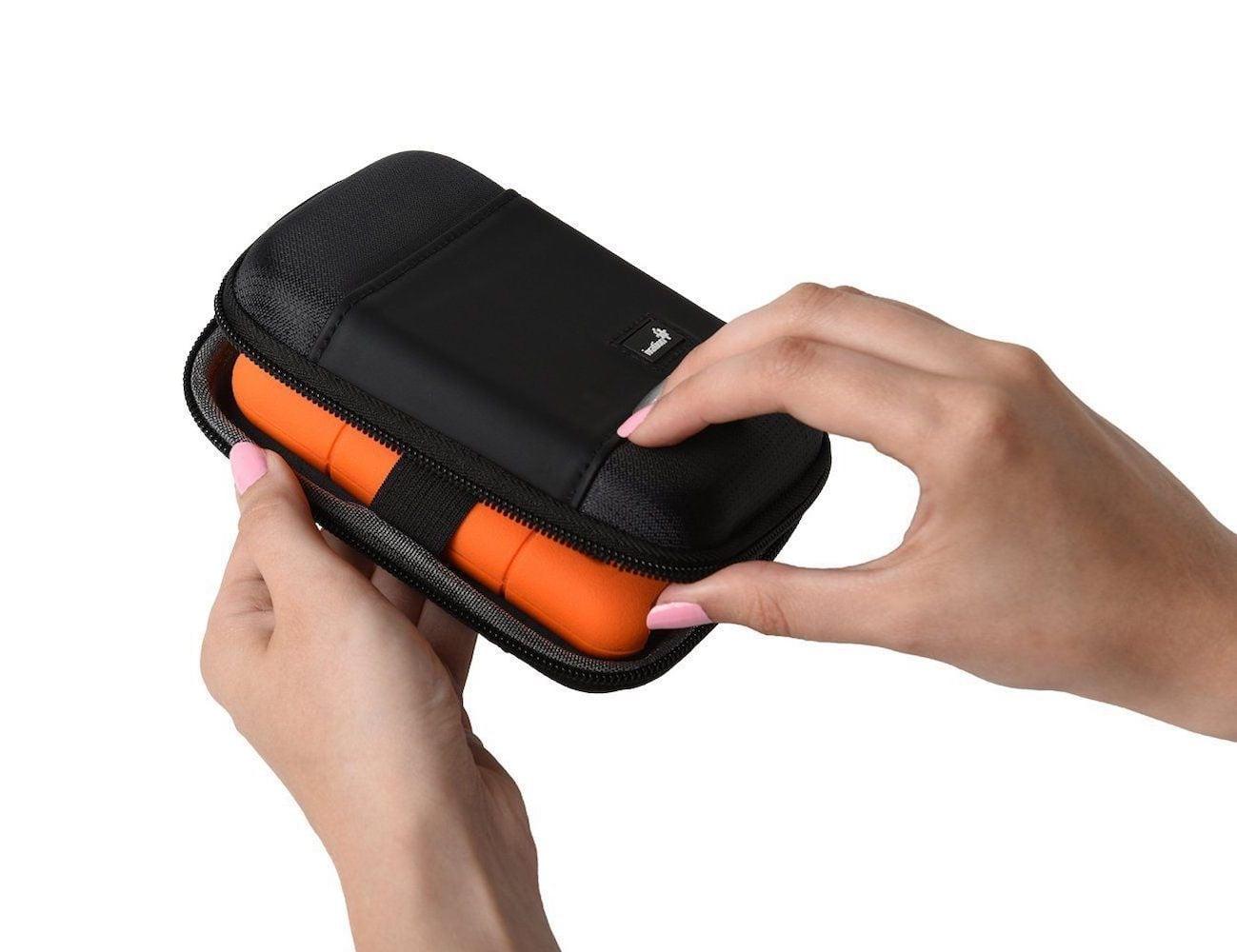 Lacie Rugged Mini Portable Hard Drive Keeps Your Data Safe