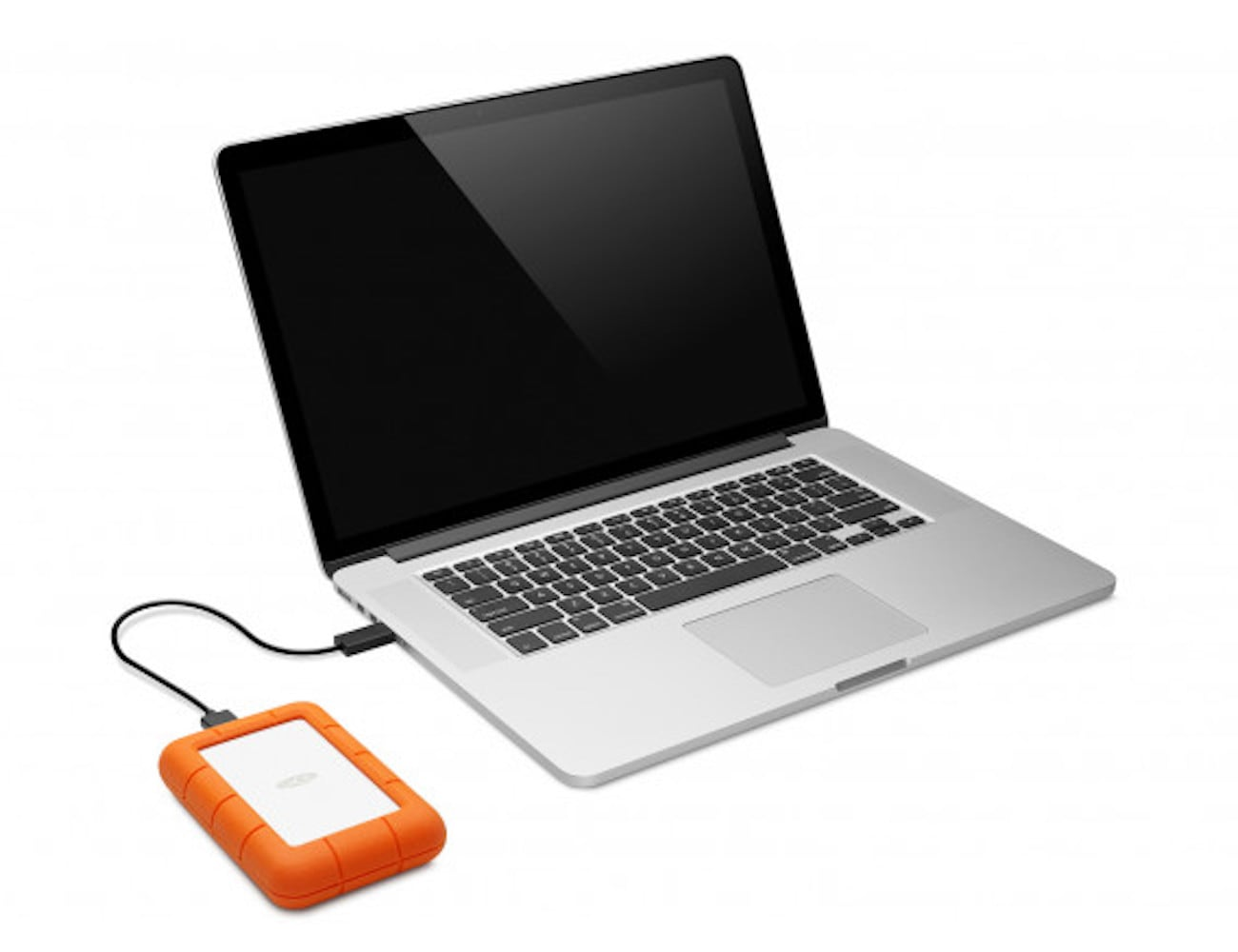 LaCie Rugged Mini Portable Hard Drive