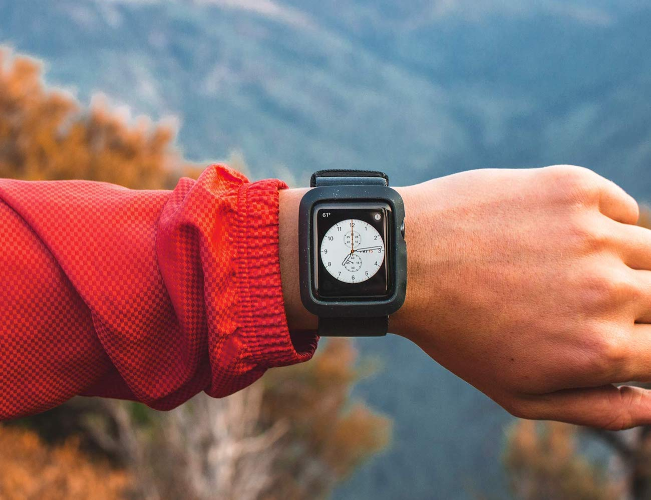 Lander Moab Apple Watch Case and Band protects your watch on adventures
