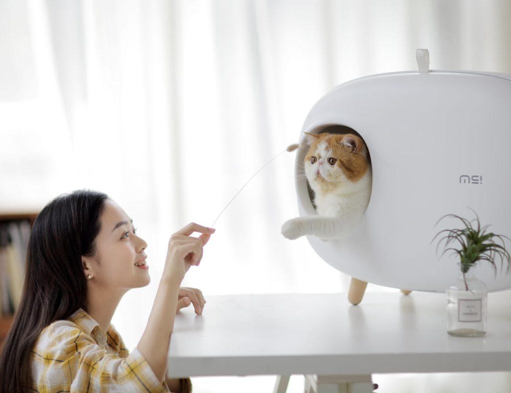 Makesure+Modern+Easy+Cat+Litter+Box+makes+light+of+litter+duties
