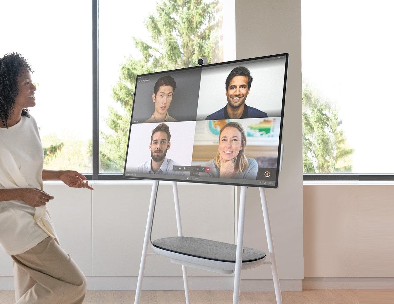 Microsoft Surface Hub 2S Interactive Whiteboard means better collaboration