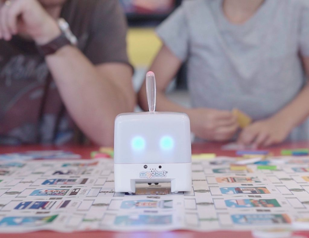 Mojobot+Coding+Robot+Board+Game+helps+kids+learn+to+code