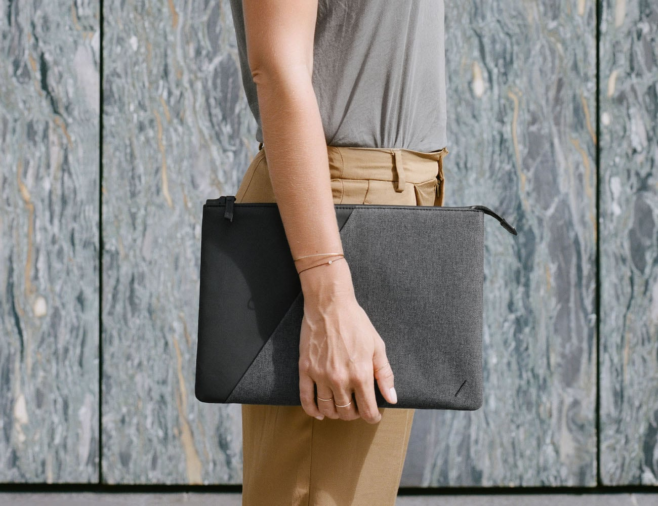 Native Union STOW premium MacBook sleeve holds your laptop with class