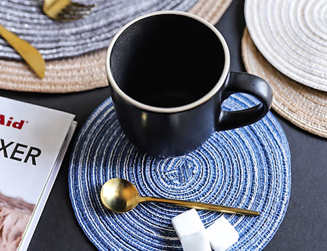 Nordic Style Anti-Slip Placemats combine form and function