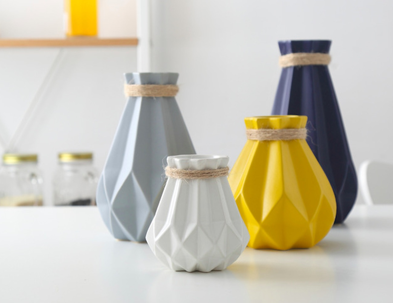 Nordic Style Modern Ceramic Vase is all about simplicity