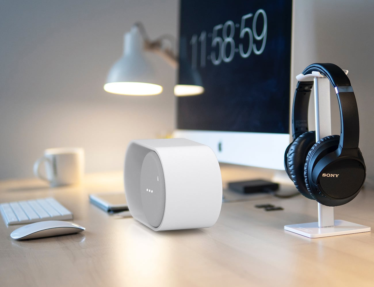ON/OFF Smartphone Button Bluetooth Speaker imitates your digital display