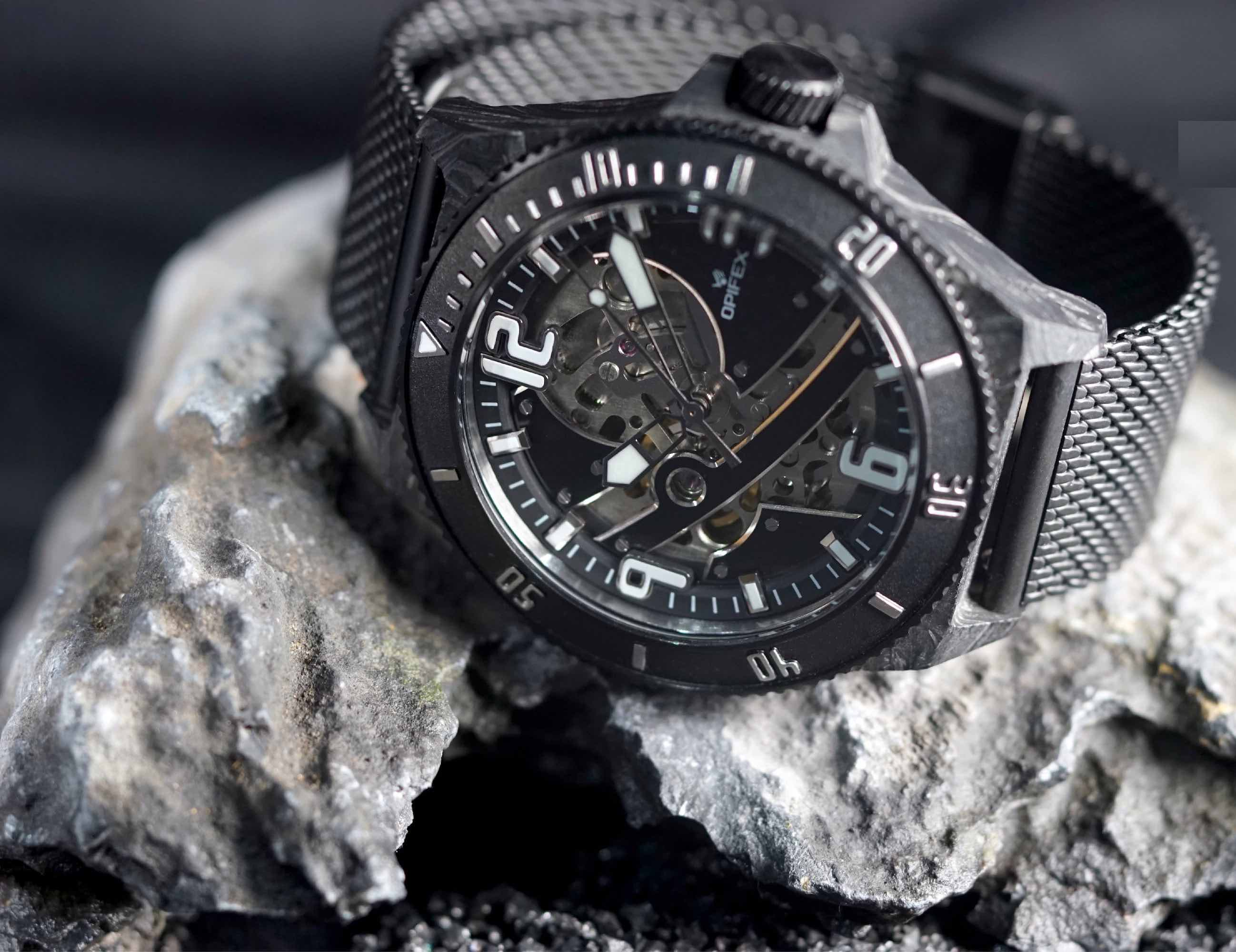 22f2c20ff This dive watch is complete with a skeleton dial and affordable price