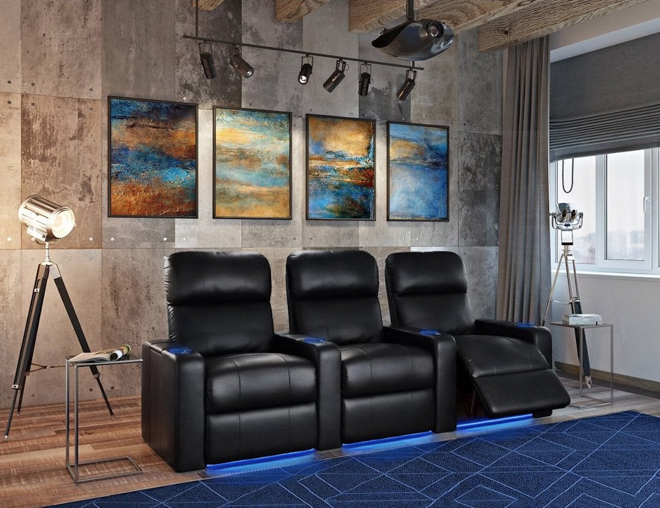 Octane Turbo XL700 Premium Home Theater Seating