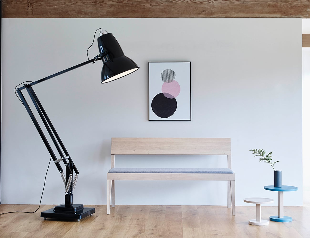 Original 1227 Giant Floor Lamp gives your home some whimsy