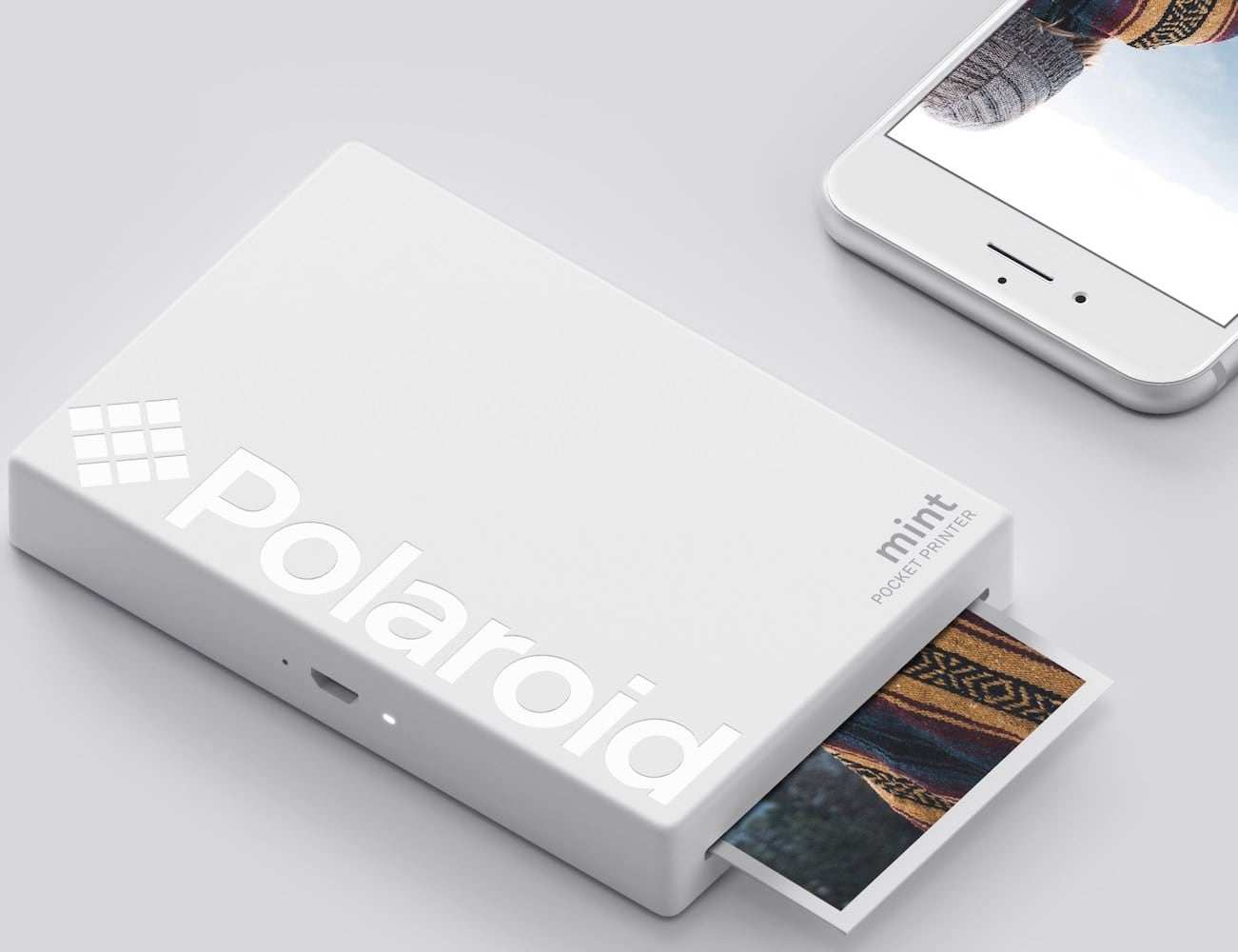 Polaroid Mint Instant Digital Pocket Printer prints straight from your smartphone