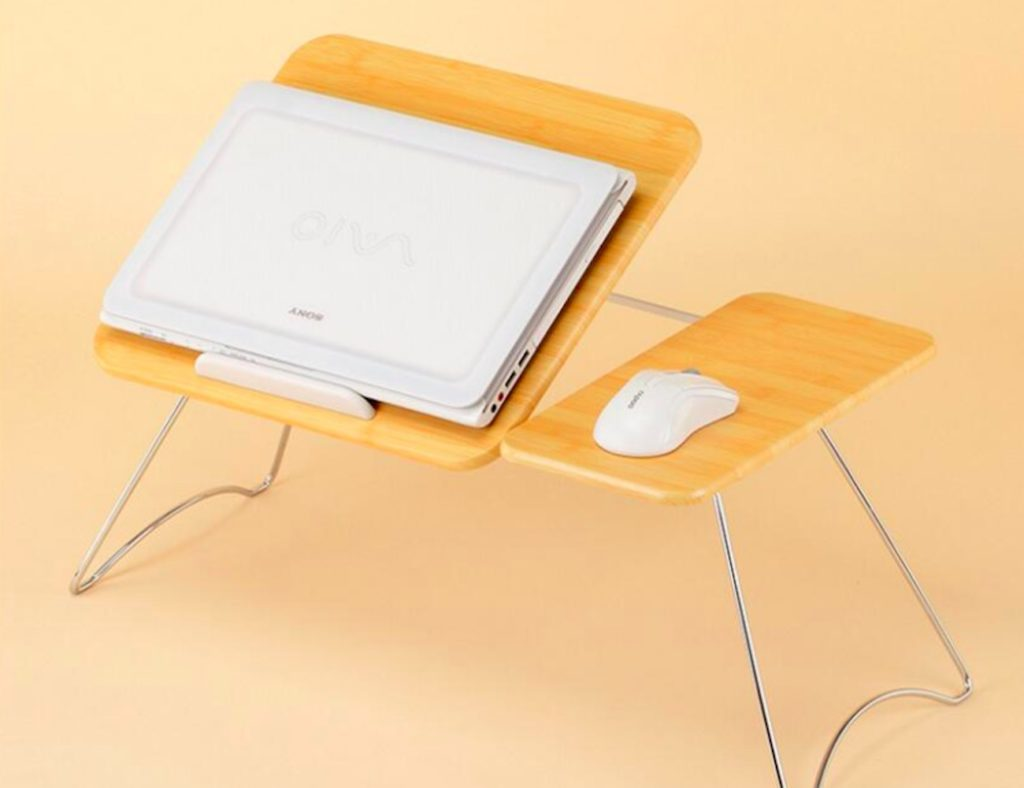 Portable+Foldable+Laptop+Lap+Desk+puts+your+office+at+your+fingertips