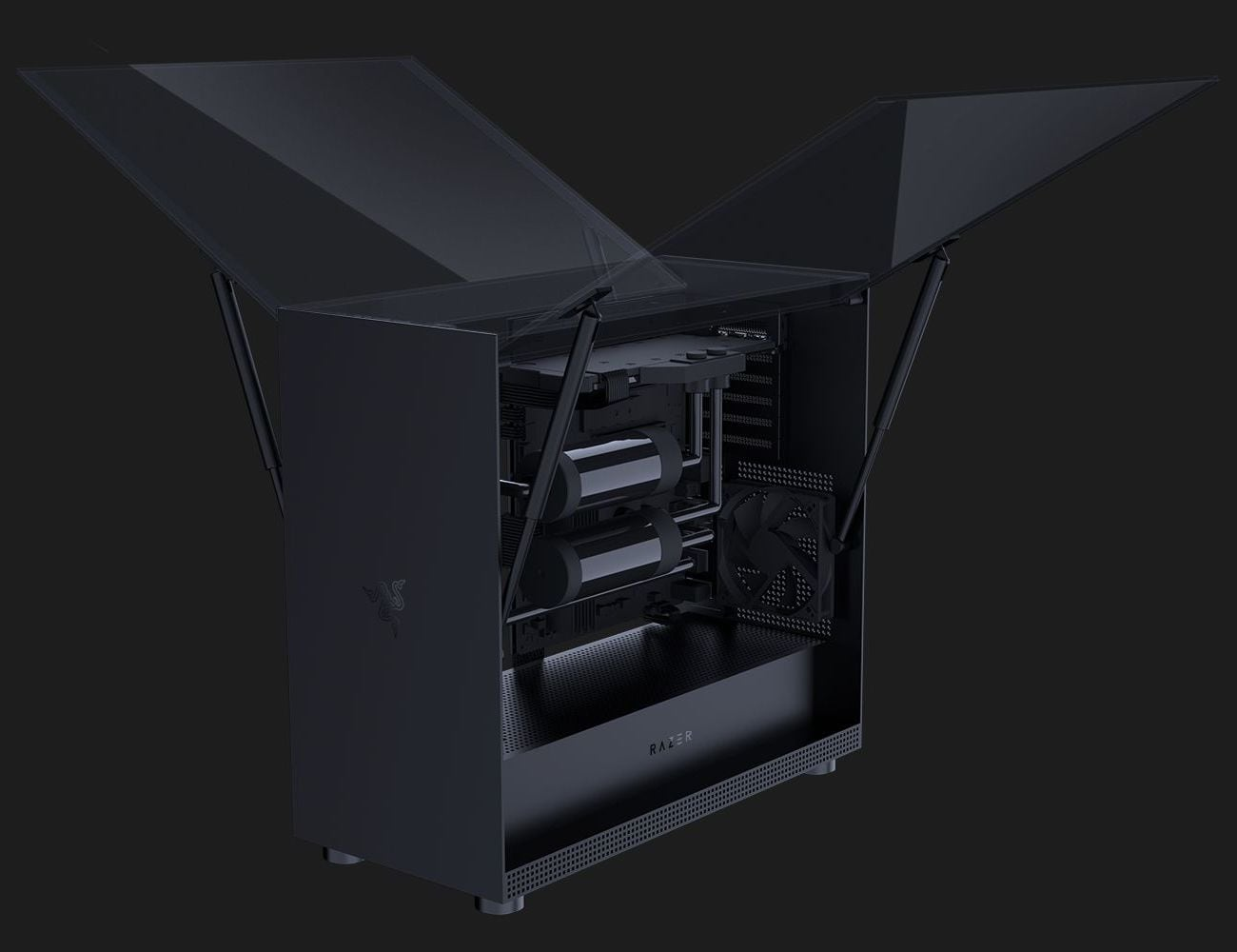 Razer Tomahawk Elite Advanced PC Case houses your prized components