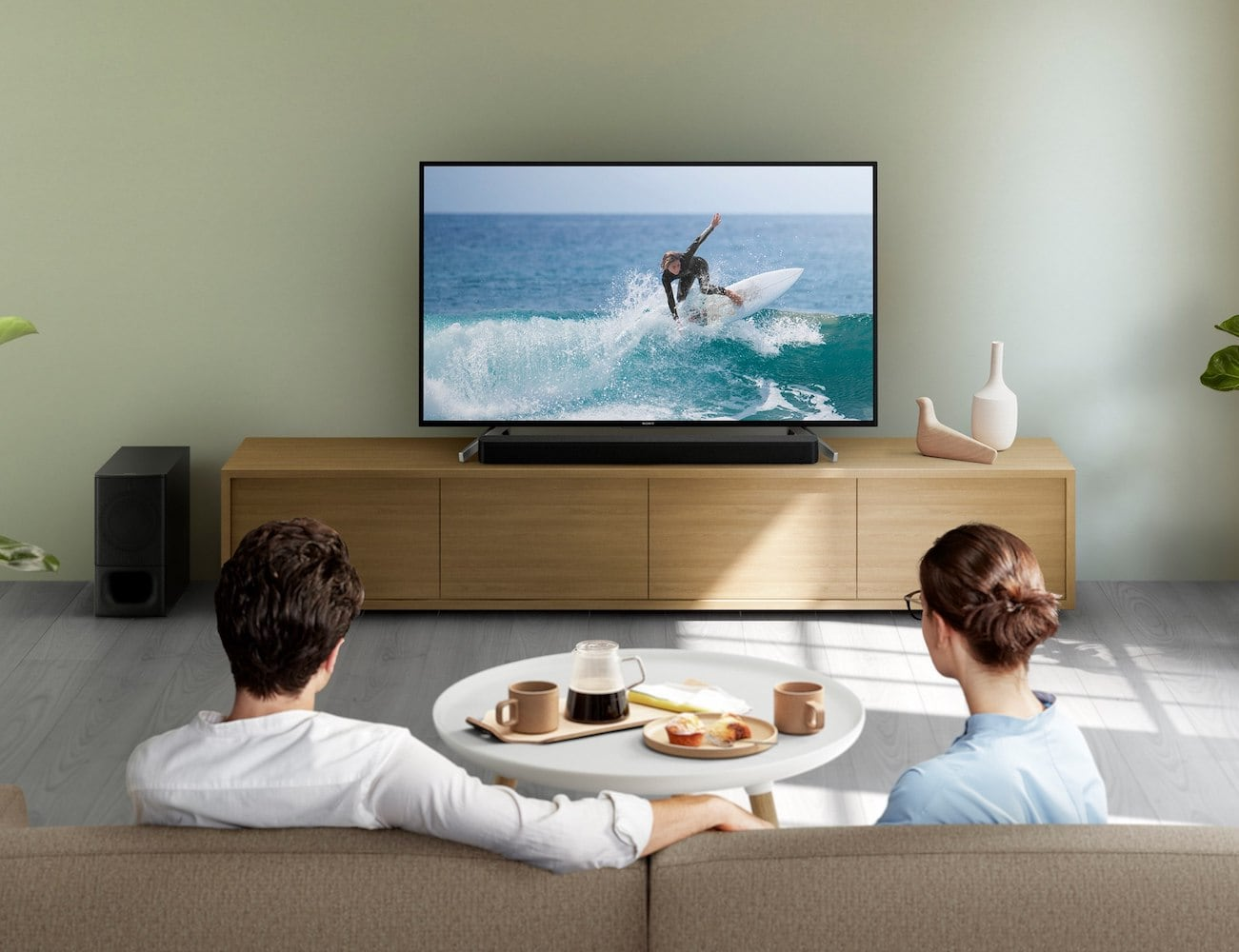 Sony 2.1ch Powerful Wireless Subwoofer Soundbar packs big sound in a small package