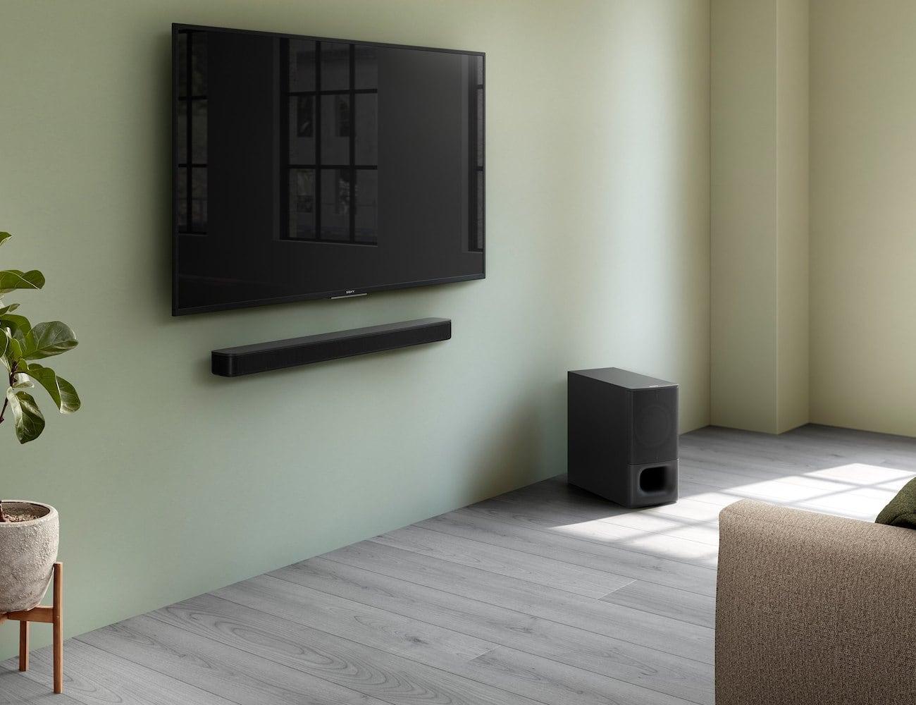 Sony 2.1ch Powerful Wireless Subwoofer Soundbar