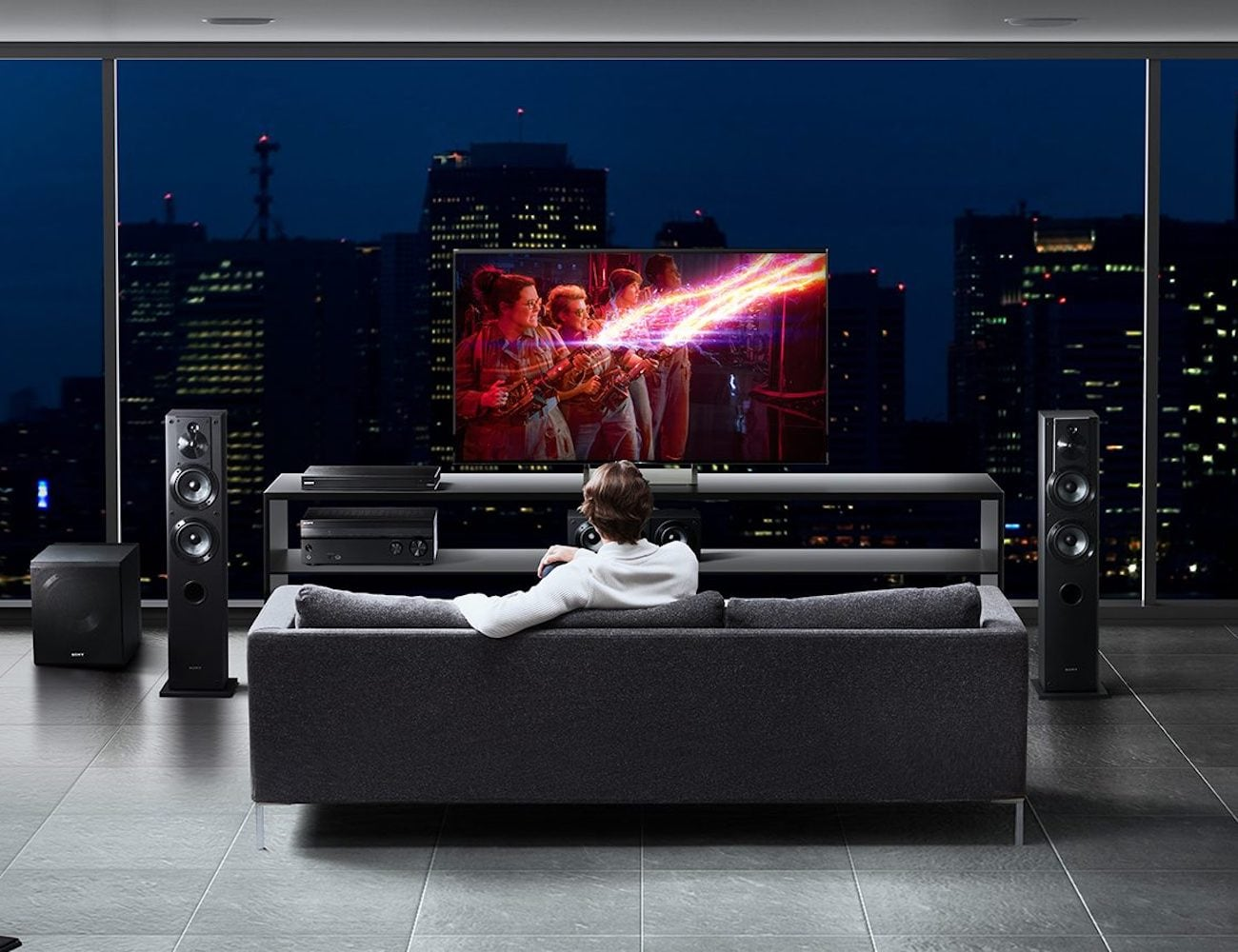 Sony 4K UHD Blu-ray Player completes your home theater setup