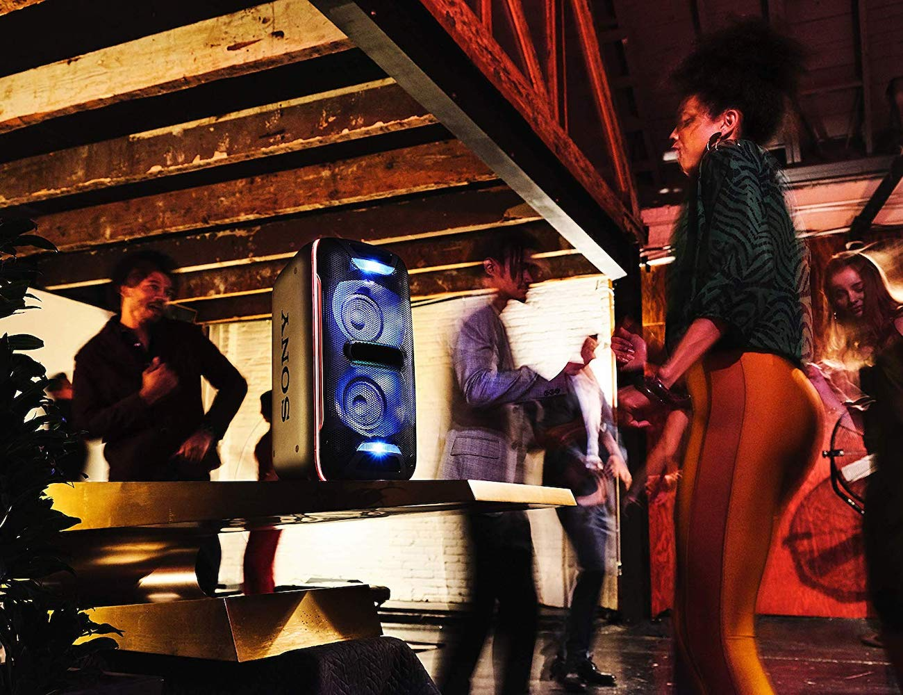 Sony GTK-XB72 Wireless Dance Party Speaker ups your disco tempo