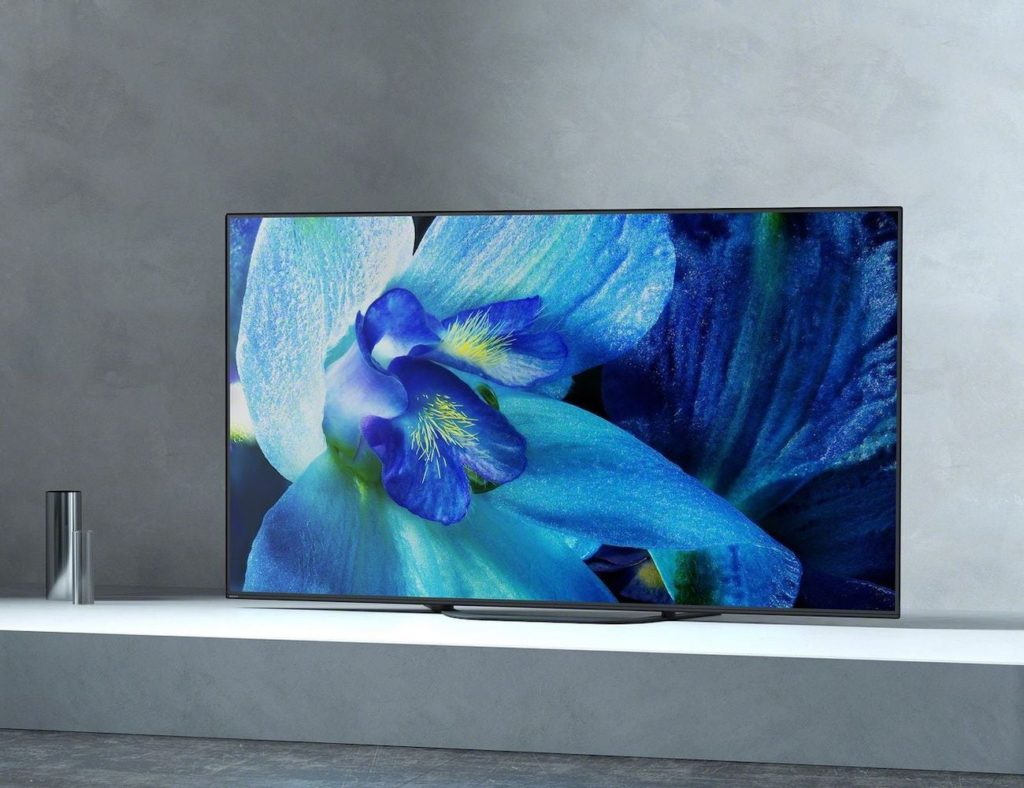 Sony+MASTER+Series+A9G+OLED+4K+Ultra+HD+Smart+TVs+displays+extremely+clear+picture