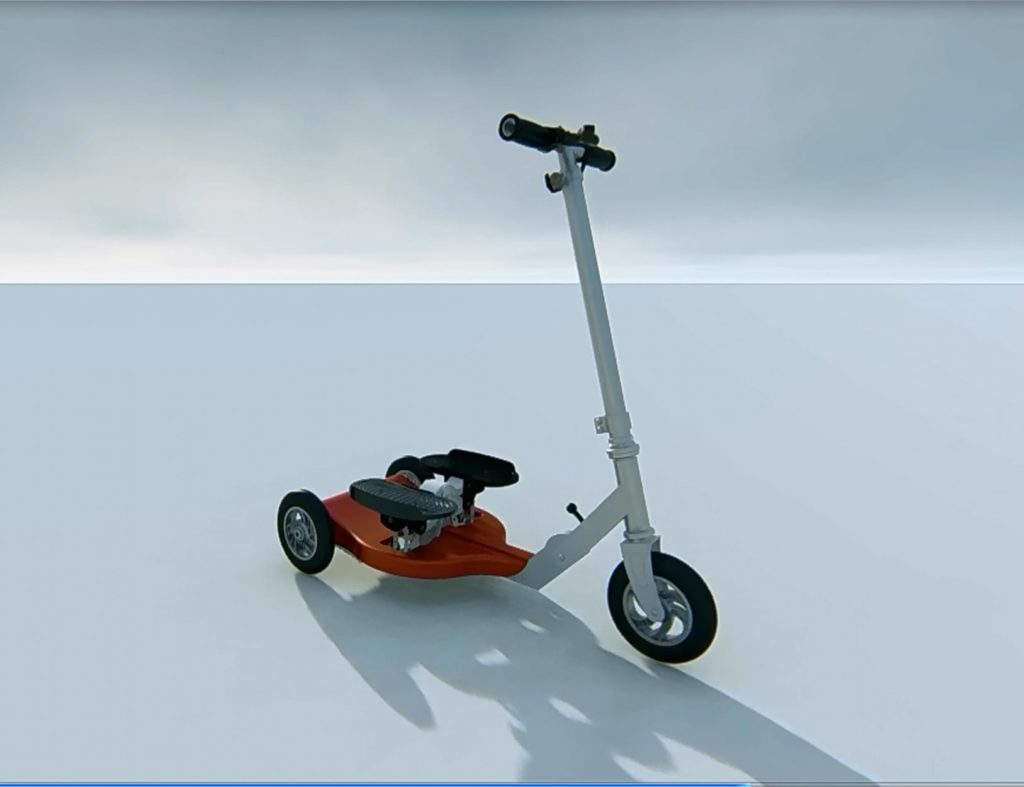 StepSkooter+Combination+Scooter+and+Exercise+Stepper+makes+exercise+fun