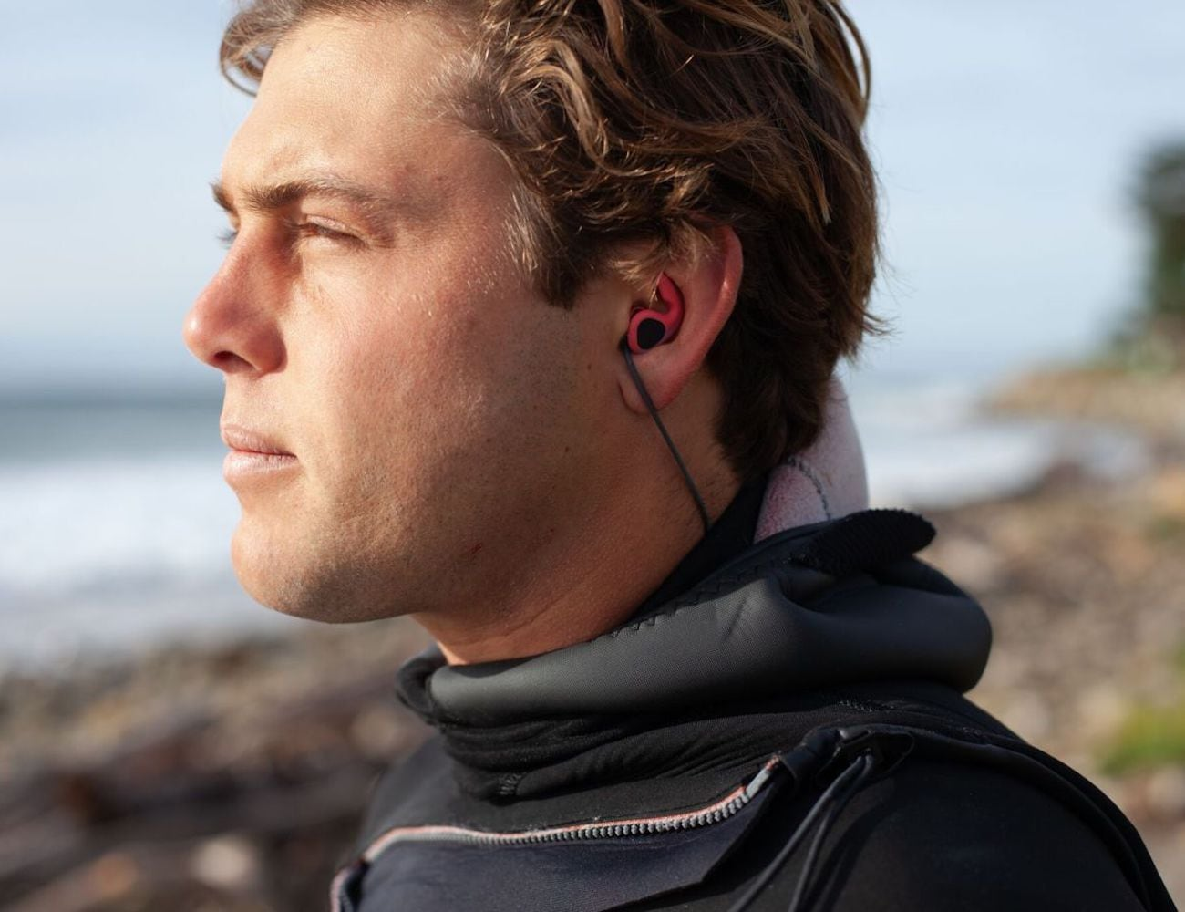SurfEars 3.0 Adjustable Surfing Ear Plugs keep sound in and water out