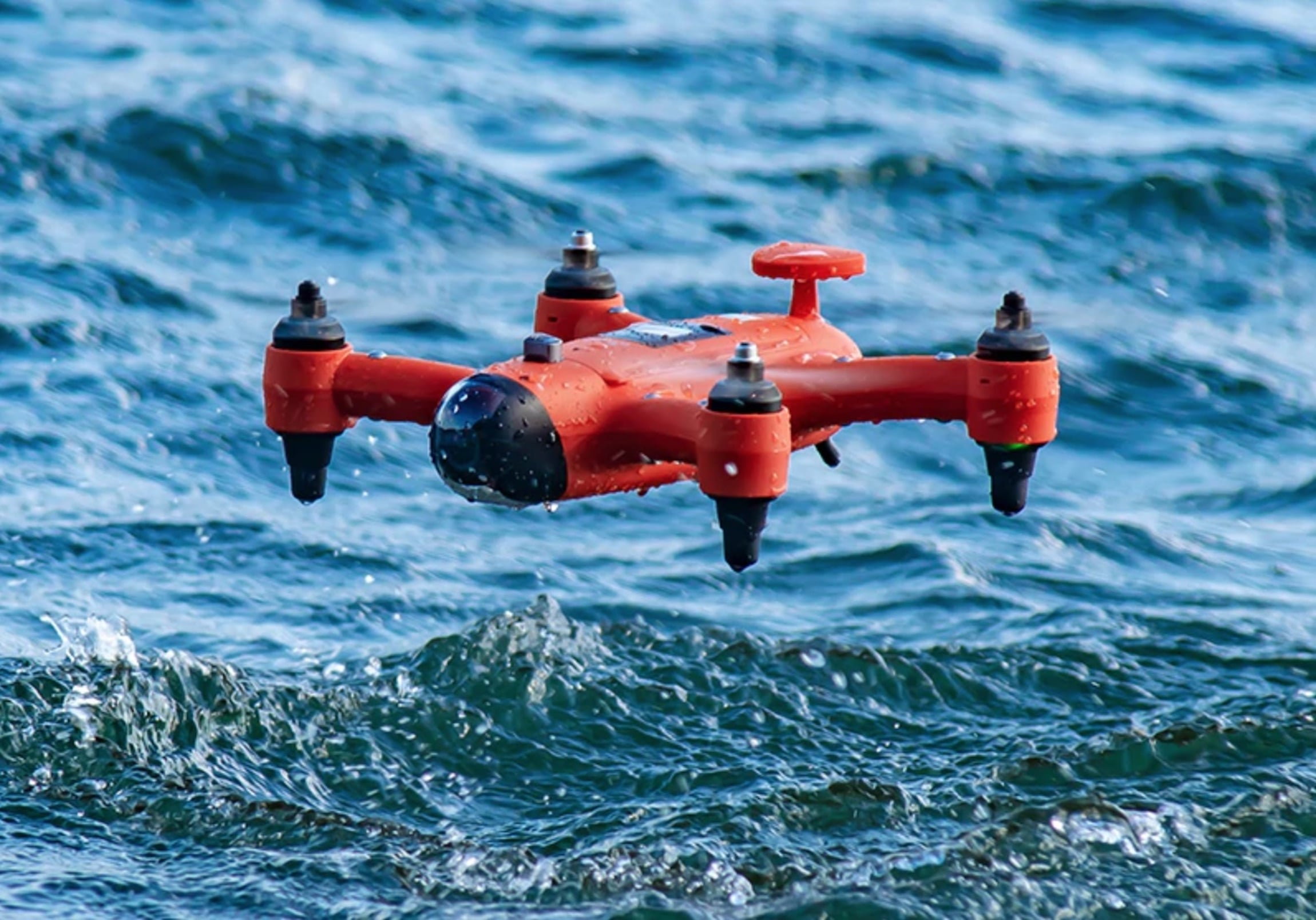 SwellPro Spry Waterproof Drone can fly, float, and submerge