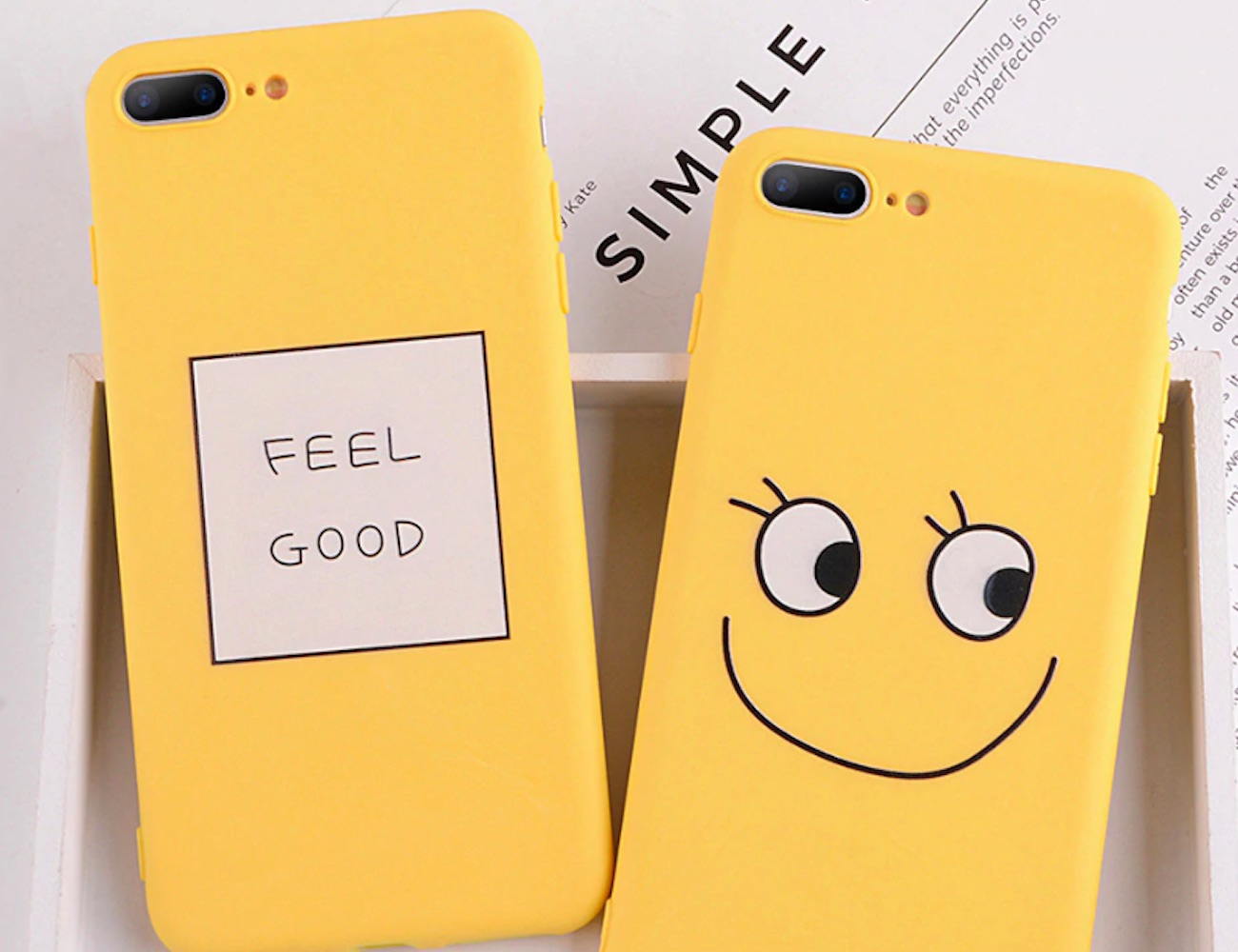 Uplifting Cartoon iPhone Case adds happiness to your every day