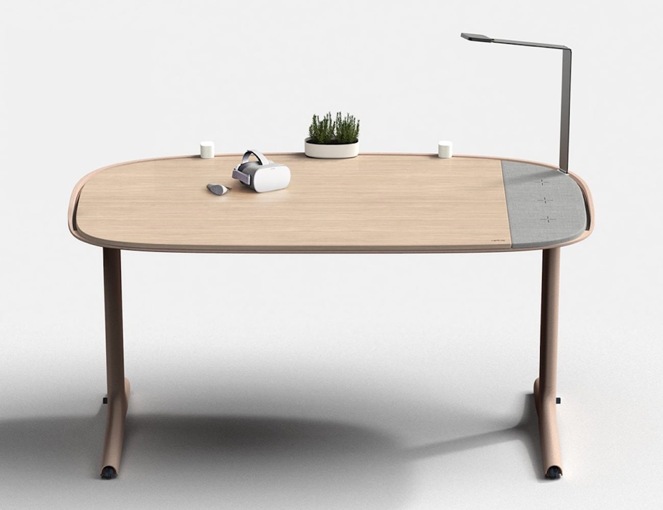 Uplus Modular Office System helps you enjoy being at your desk