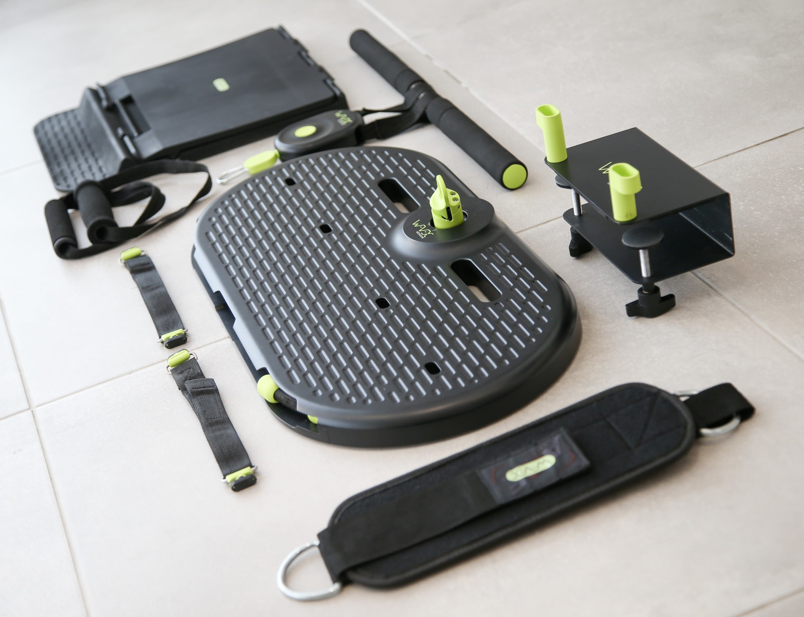 Microgym Portable Home Gym offers hundreds of workouts in one